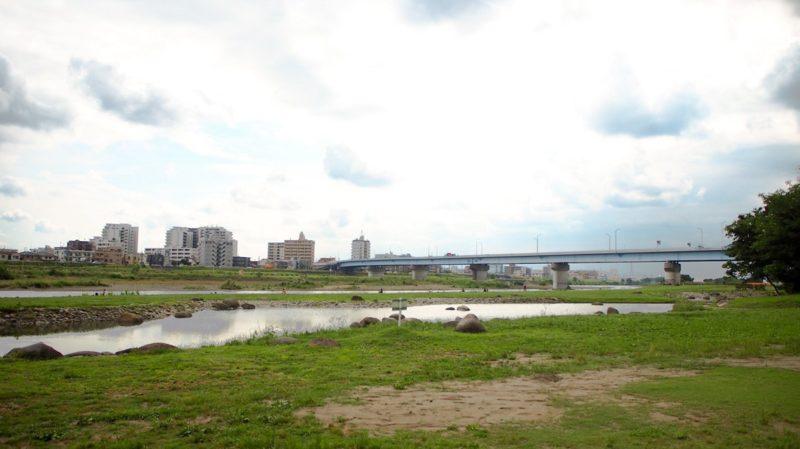 多摩川沿岸