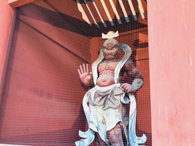 木造仁王像