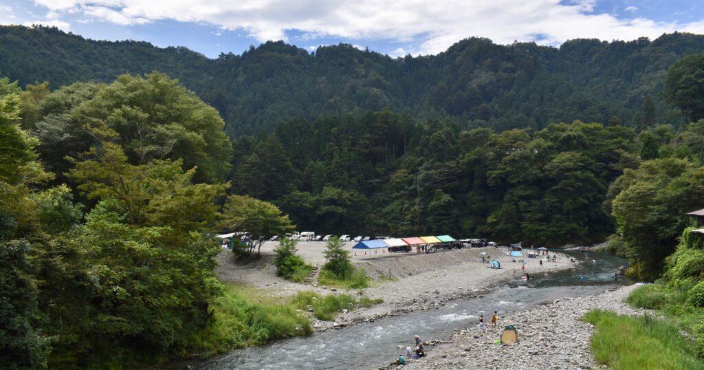 秋川渓谷写真